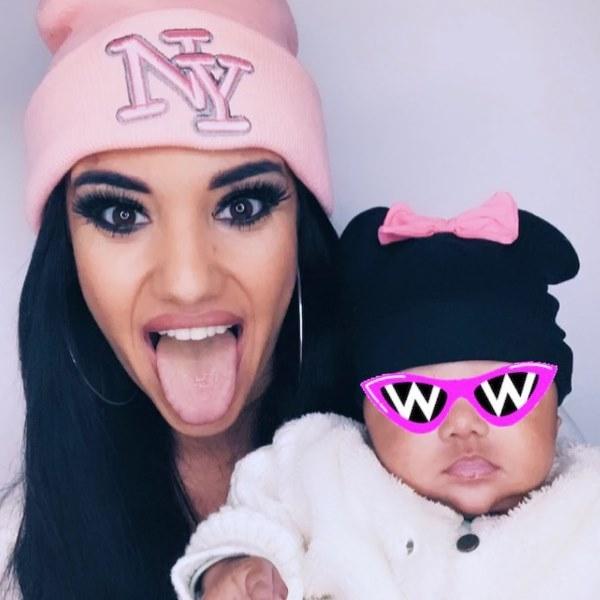 Joana Diniz mostra a cara da filha após ter dito que «nunca» o faria!