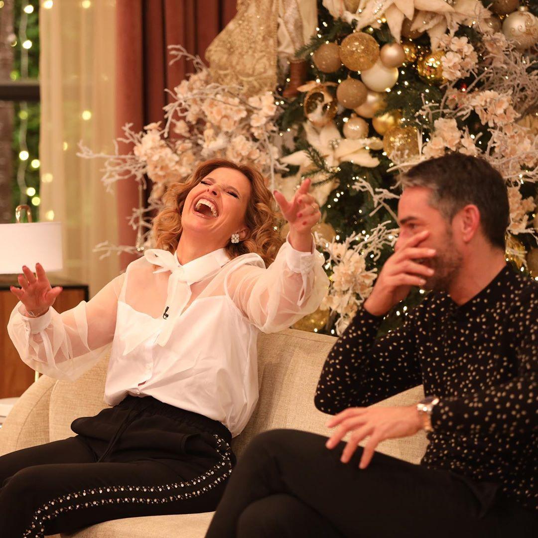 Cristina Ferreira riso