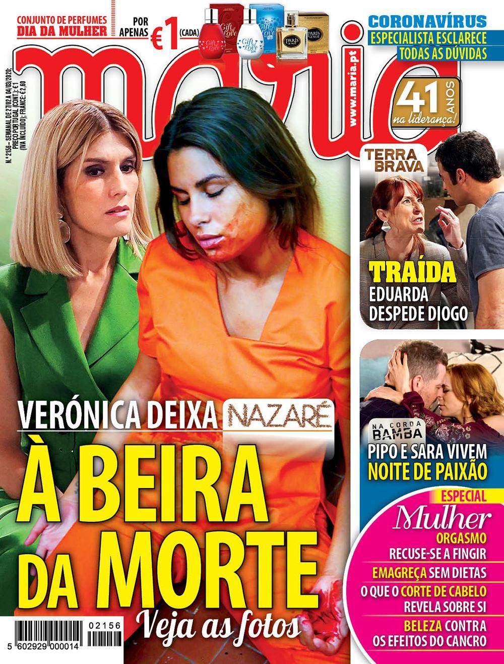 Revista Maria capa