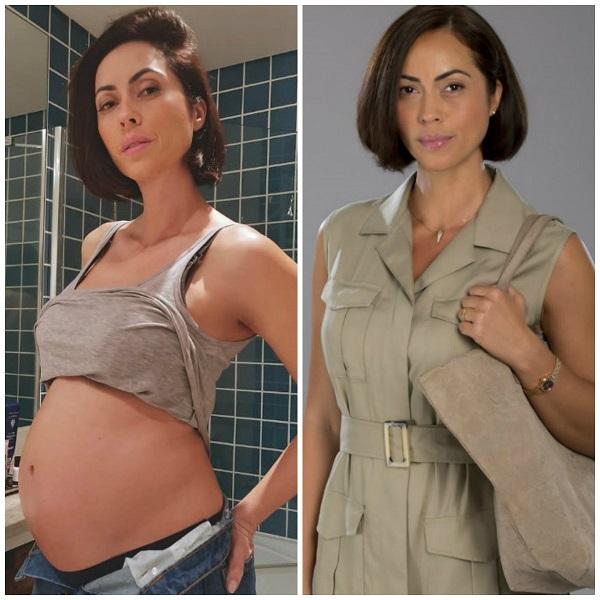 Débora Monteiro interpreta Carla na novela da SIC Terra Brava