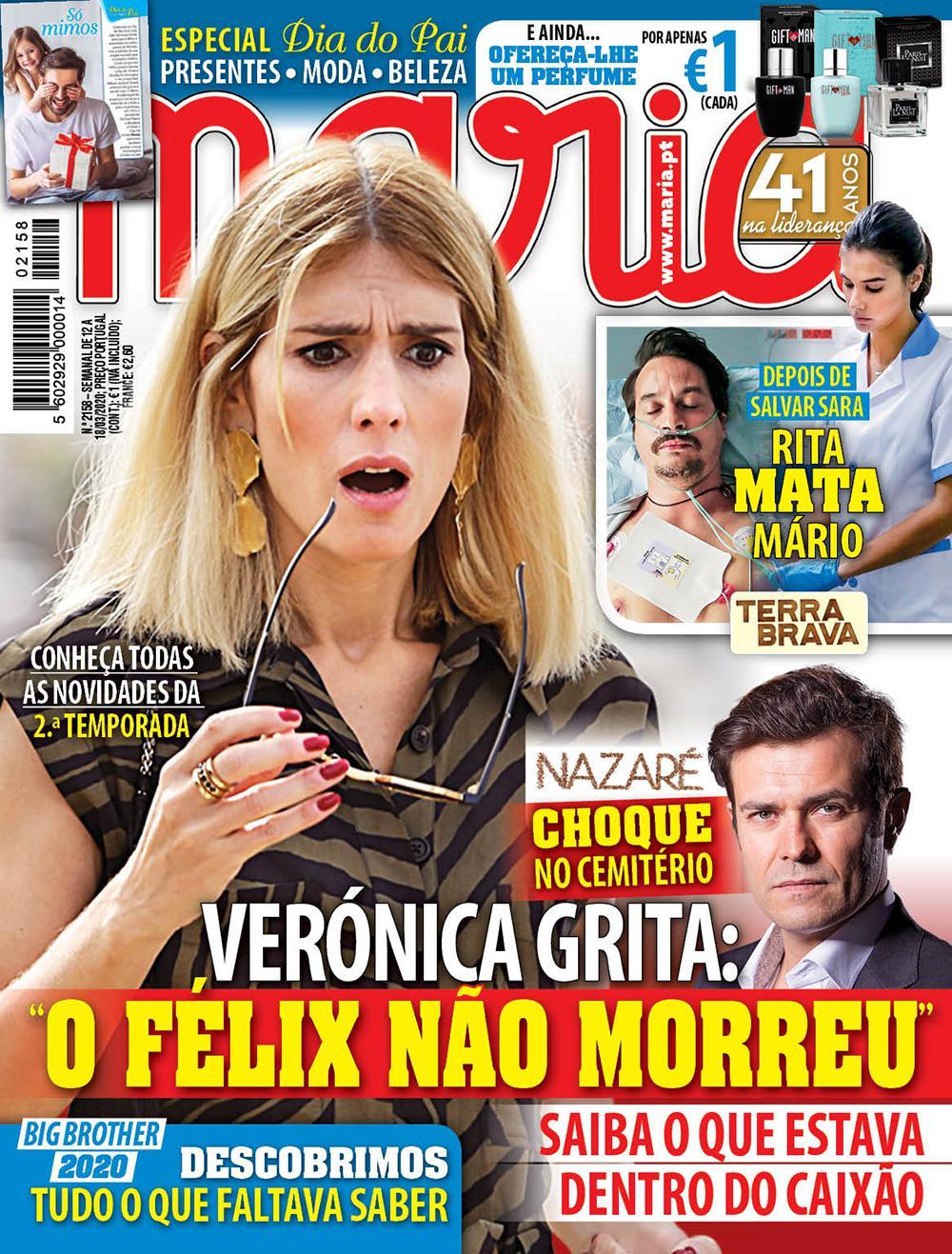 Capa Revista Maria