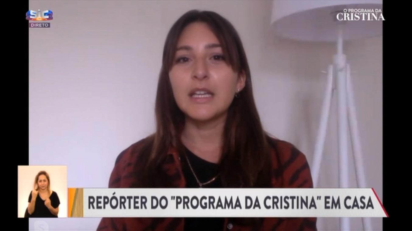 Repórter do programa de Cristina Ferreira 1