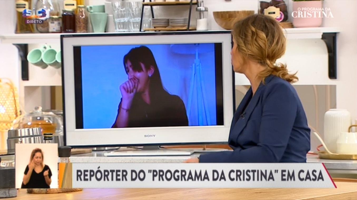 Repórter do programa de Cristina Ferreira 2