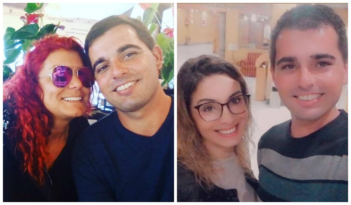 Ângel Magalhães, António Hipólito e Liliana Oliveira