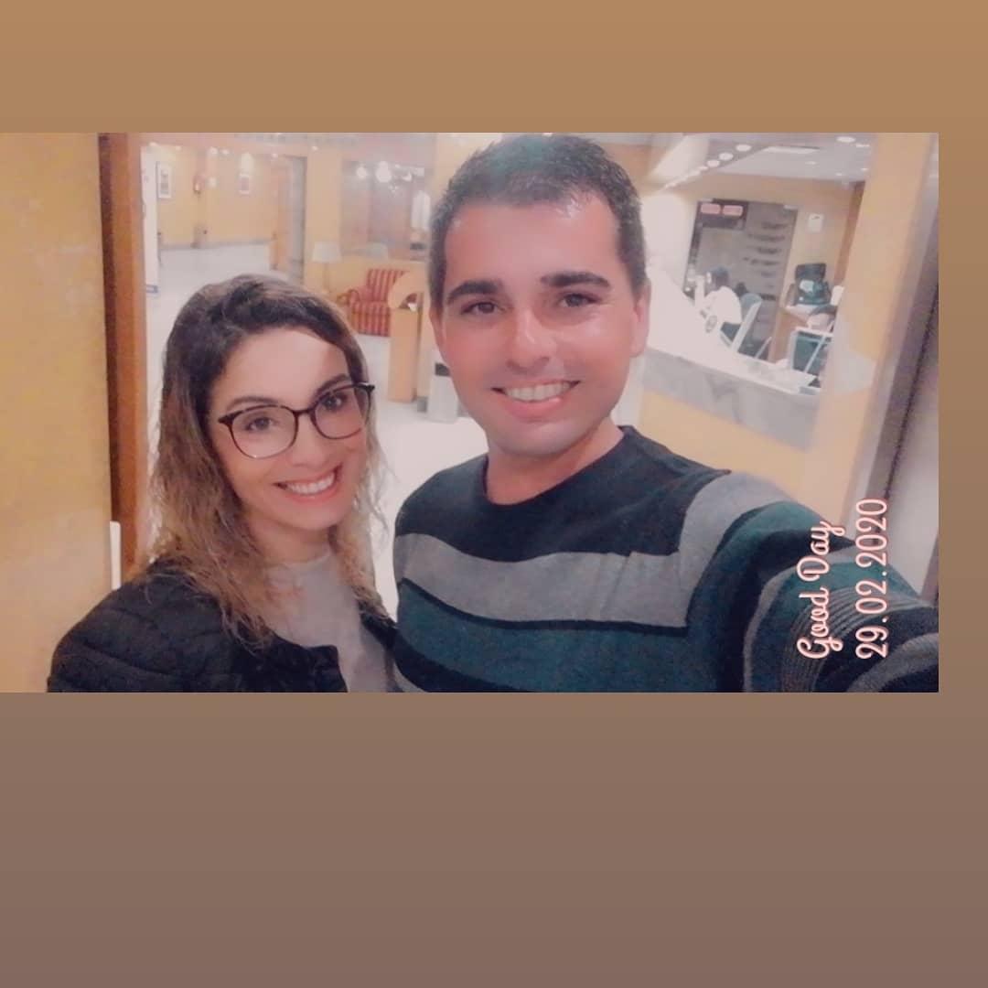 Liliana Oliveira e António Hipólito