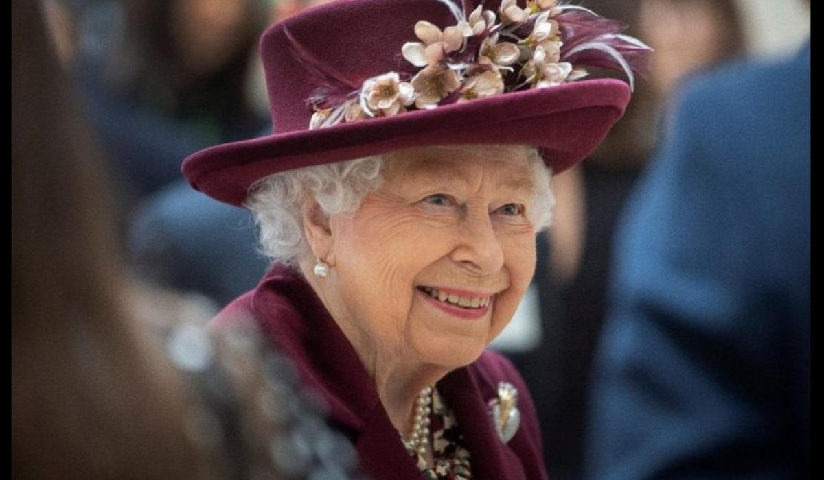 Rainha Isabel II dest