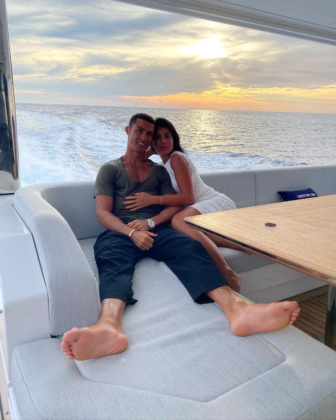 Cristiano Ronaldo e Georgina Rodríguez