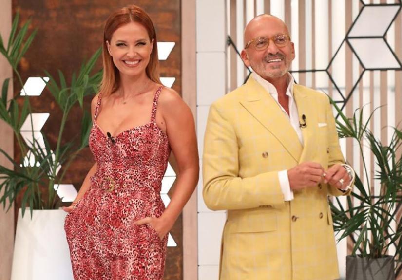 Manuel Luís Goucha e Fátima Lopes