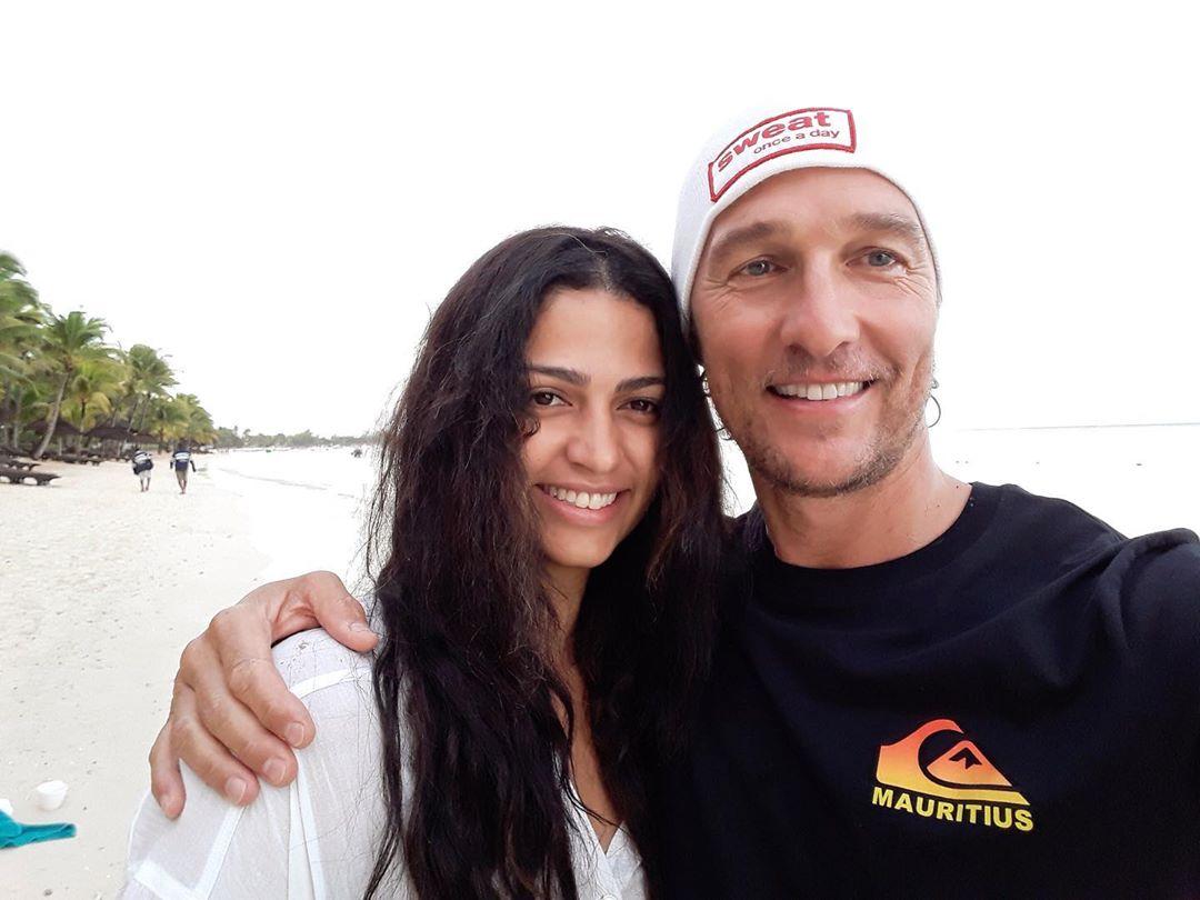 Matthew McConaughey pai morte relações sexuais