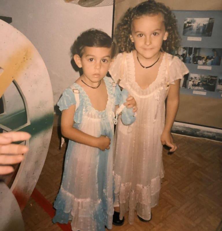 Georgina Rodríguez e a irmã Ivana