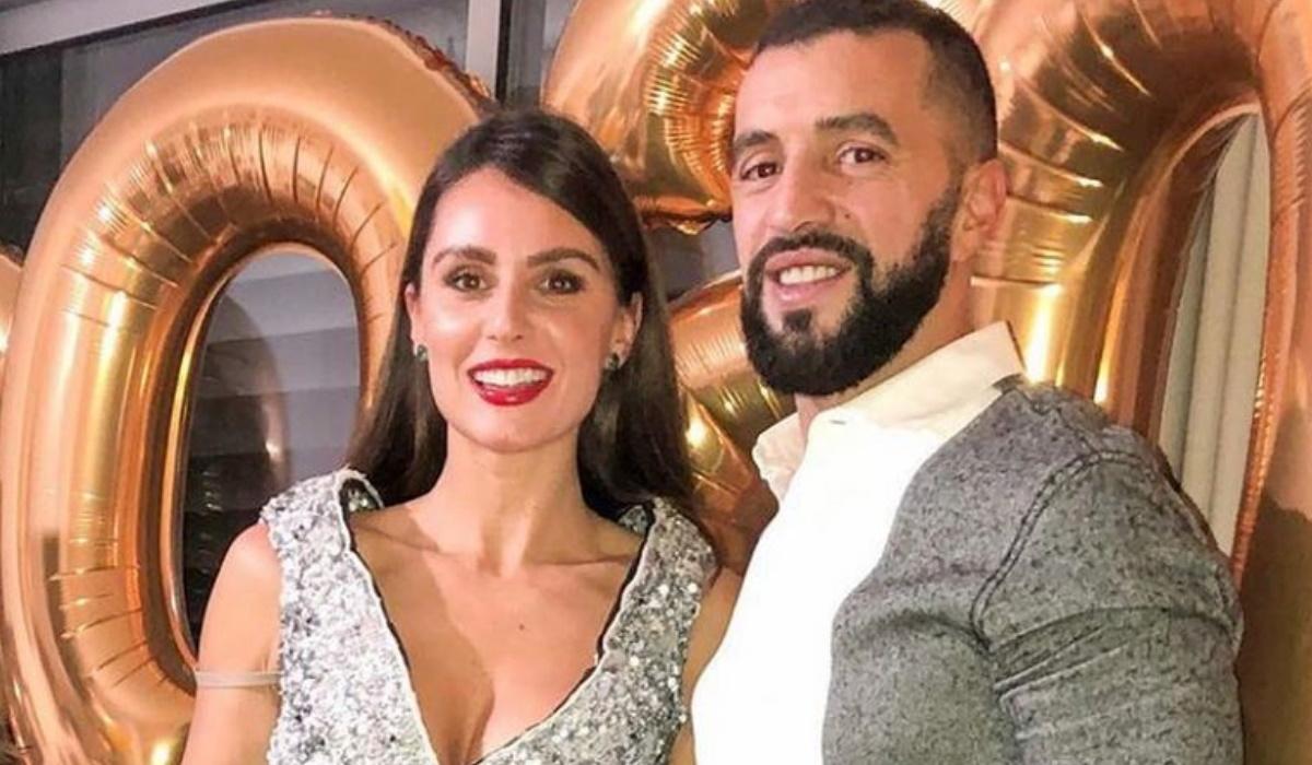 Vanessa Rebelo e Simão Sabrosa