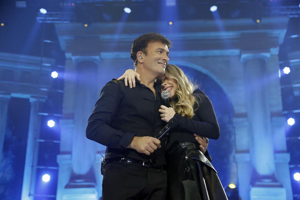 Tony Carreira e Sara Carreira quad
