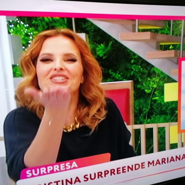 Cristina Ferreira envia mensagem a menina e deixa-a a chorar de emoção