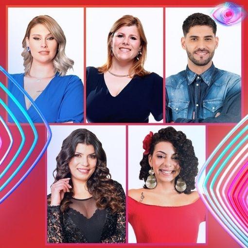 Bernardina Brito,Gonçalo Quinaz, Jéssica Fernandes, Noélia Pereira e Sofia Sousa são os nomeados da semana no