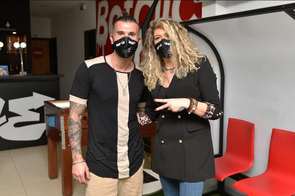 Maria Leal e Bruno Savate