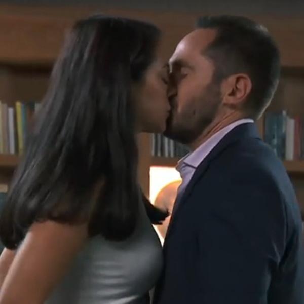 Amar Demais: Raul envolve-se com Célia a pensar que é Madalena! Preto foge e esconde-se