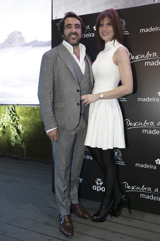 Nuno Santana com Marta Wahnon