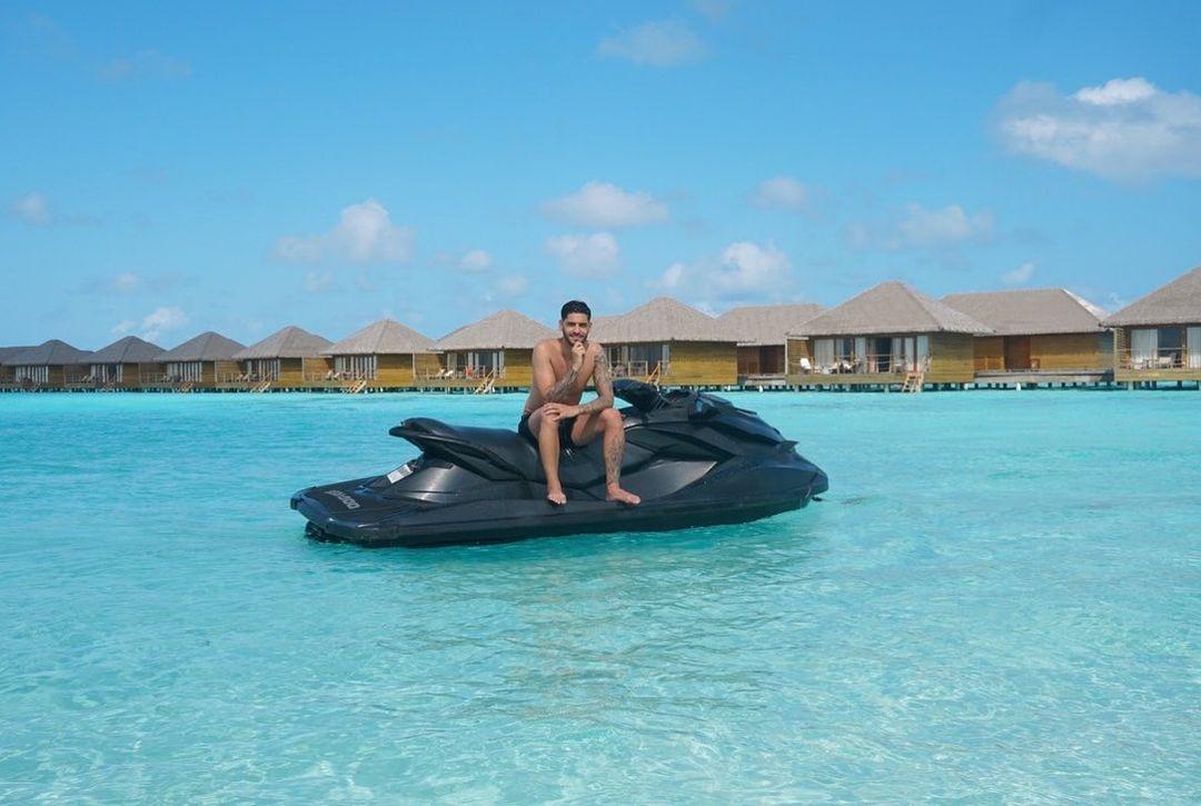 Gonçalo Quinaz nas Maldivas