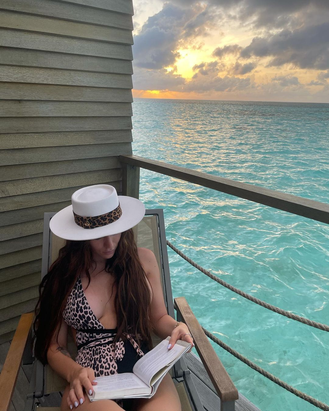 Jéssica Nogueira nas Maldivas