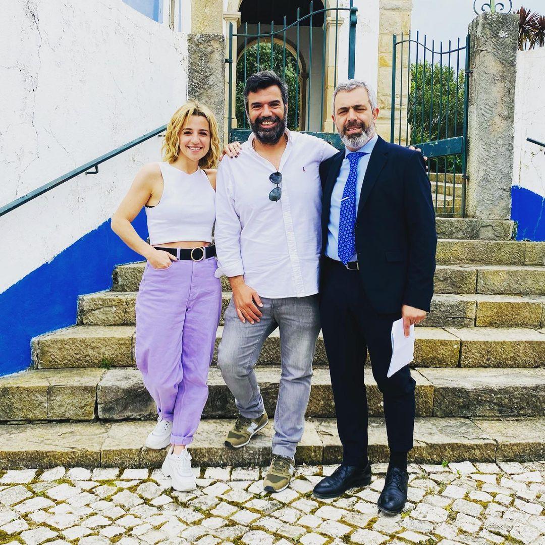 Inês Herédia, Roberto Pereira e Pedro Alves