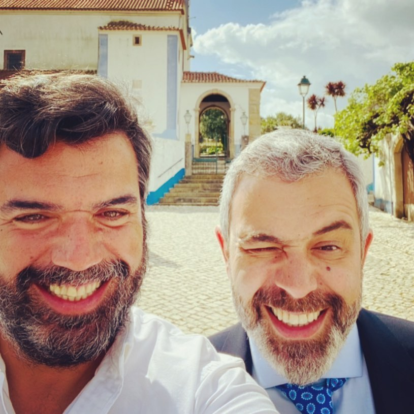 Roberto Pereira e Pedro Alves