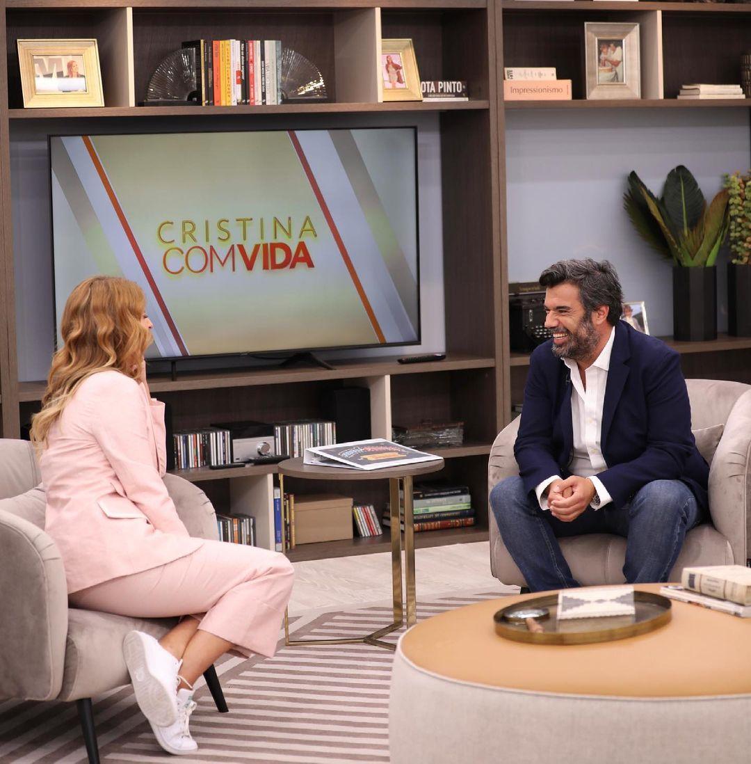Roberto Pereira e Cristina Ferreira