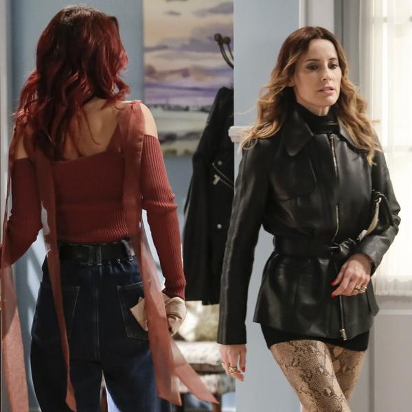 Amor Amor: Vanessa ameaça Cátia para proteger Bruno. A jovem fica fora de si