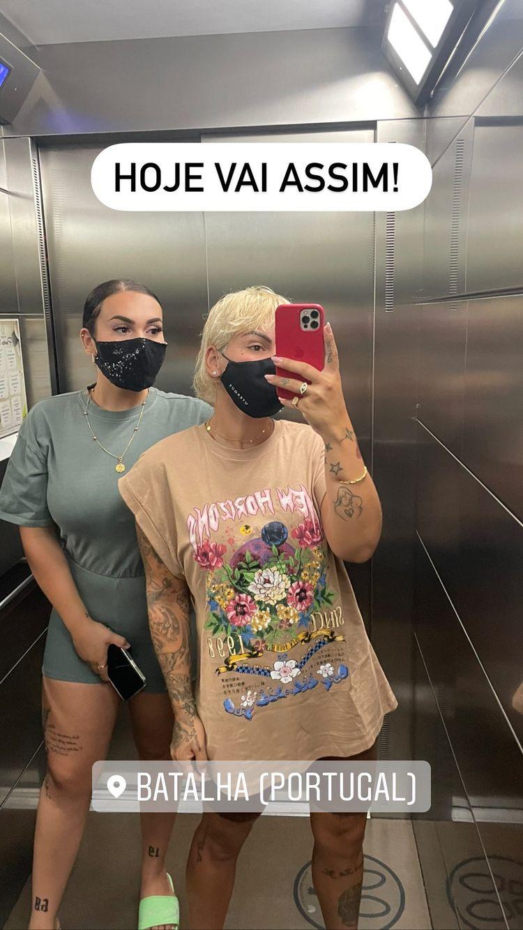 Fanny e irmã Carina
