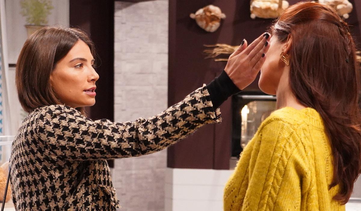 A Serra: Ao saber que a amiga é amante do pai, Mariana agride Vitória