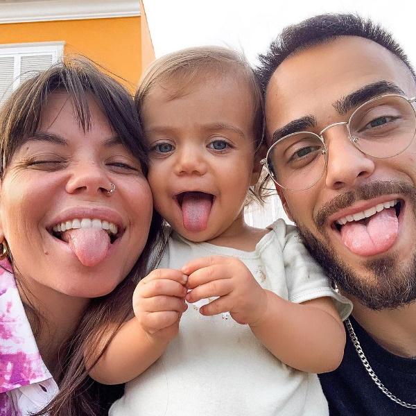 Simplesmente encantador! Filha de Diogo Piçarra reconhece o pai na televisão. Vídeo