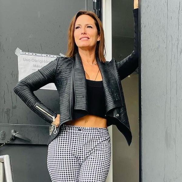Fernanda Serrano cai durante gravações de novela e a reação não é a esperada