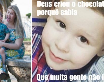 Rosto do filho de Bernardina Brito, Kévim, é usado em página de paródia (fotos)