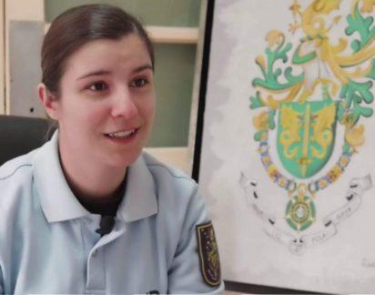 Fomos conhecer a história da Tenente Inês Rabaça, uma verdadeira mulher de armas