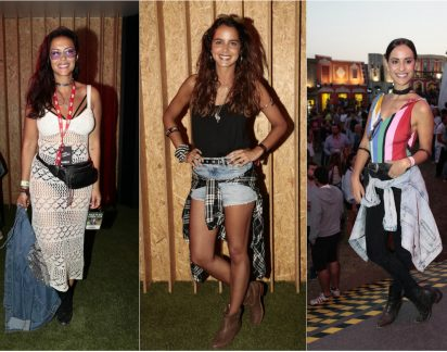 Rock in Rio Lisboa: Os looks arrasadores dos famosos no segundo dia do festival