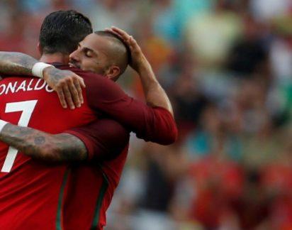 Ricardo Quaresma dedica golo mágico ao amigo de sempre (e para sempre)