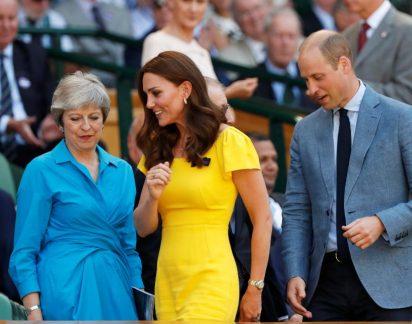 Realeza em Wimbledon: Depois de Meghan, é Kate quem arrasa de amarelo!