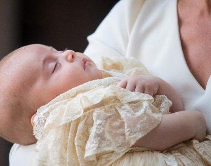 Realeza: Veja as primeiras fotos do batizado do príncipe Louis